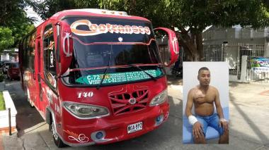 'El Príncipe', el atracador que disparó contra conductor de buseta