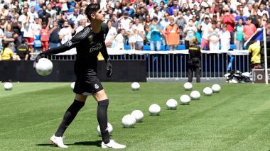 """""""Llegar al mejor club del mundo es una gran responsabilidad"""": Courtois"""