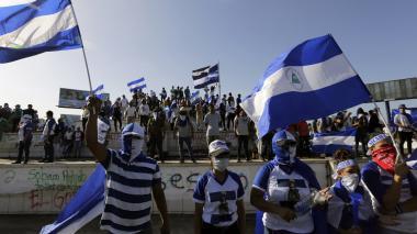 Miles marchan por libertad de detenidos en Nicaragua