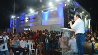 En La Paz, de Santa Marta, estrenan Centro de Salud