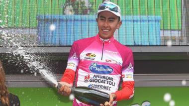 El ciclista colombiano Sosa aspira a suceder a Egan Bernal en Tour del Porvenir