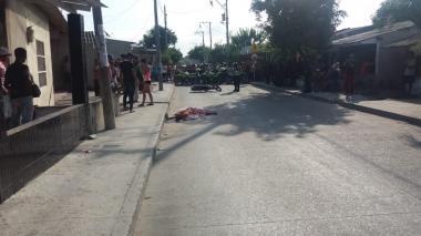 Muere mototaxista en accidente de tránsito en Malambo