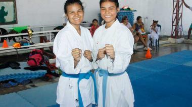 Las hermanas soledeñas Torres, al Panamericano de karate