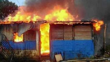 Tragedia en Tierralta, Córdoba: mueren calcinados cinco niños en su casa