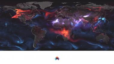 Así se ve la Tierra en un día convulsionado