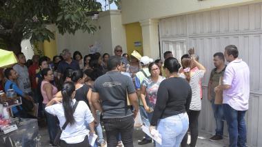 Padres del CDI Jorge N. Abello reclaman cupos en sede primaria