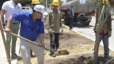 """""""Estamos bastante avanzados en la canalización de los arroyos"""": Rafael Lafont"""