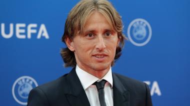 Luka Modric, elegido mejor jugador UEFA de la pasada temporada