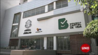 Fachada de la Secretaría Distrital de Tránsito.