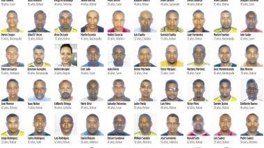 Los 59 presos en Caracas, dos años de cautiverio