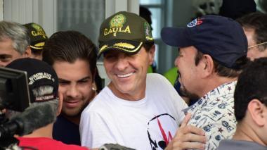 Rodolfo 'Fito' Acosta en su residencia en el norte de Barranquilla.