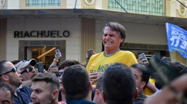 Jair Bolsonaro, candidato.