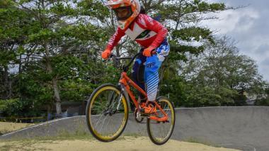 La bicicrosista Melany Suárez es una de las deportistas que aspira a ingresar en el 'Team Barranquilla'.