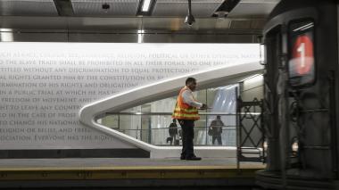 Reabren la estación de metro en NY sepultada por atentados del 9/11