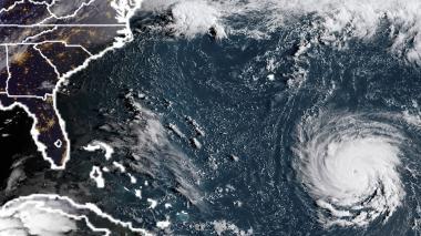 El huracán es de categoría 4.