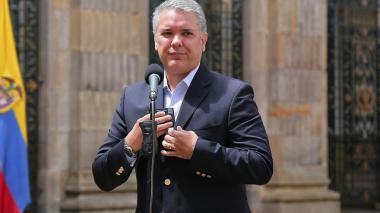 Pese a liberación de secuestrados en Chocó, Duque pide más voluntad del Eln