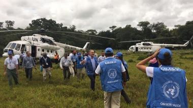 El Consejo de Seguridad de la ONU renueva misión en Colombia por un año