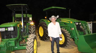 Cesar impulsa la mecanización del agro