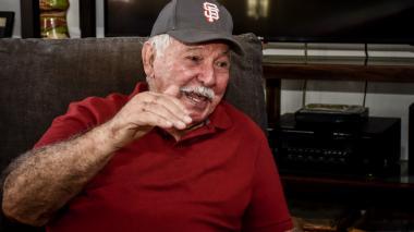 """""""Si en el cielo no juegan béisbol o  sóftbol, me devuelvo"""": Edgardo Schemel"""