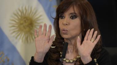 Cristina Fernández, exmandataria argentina.