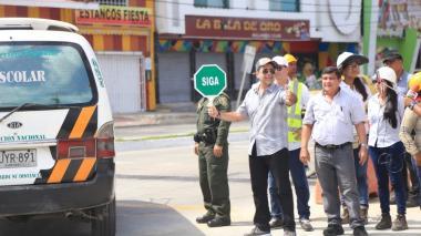 """""""El arroyo de la 21 entre Murillo y la calle 30 ya es historia"""": alcalde Char"""