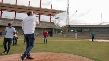 Estadio de béisbol de Repelón será entregado este viernes
