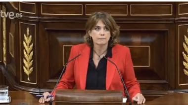 Dolores Delgado, ministra de Justicia de España.
