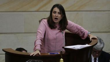 Paloma Valencia defiende reforma a la justicia de supuesto 'mico'