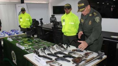 Marihuana en paquetes de galletas y armas automáticas: Policía activa redadas contra el crimen