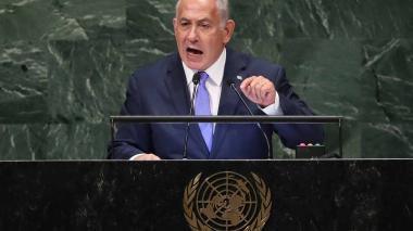 Benjamin Netanyahu, el primer ministro de Israel.