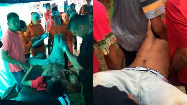 En video   Primer día de corralejas en Sabanalarga deja 12 personas heridas
