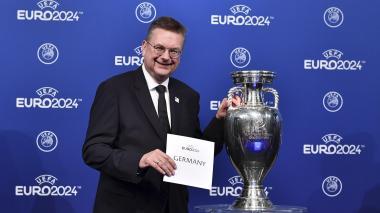 Presidente de la Federación Alemana de Fútbol, Reinhard Grindel.