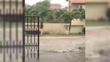 En video   Habitantes de Villa Campestre reportan inundaciones tras lluvia de este jueves