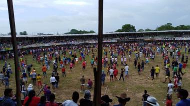 En video   Segundo día de corralejas en Sabanalarga: cuatro heridos