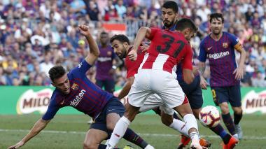 El Barcelona tropieza con el Athletic y pone en peligro su liderato