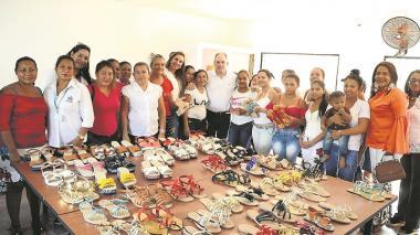 Mujeres emprendedoras se forman en las casas taller del Cesar