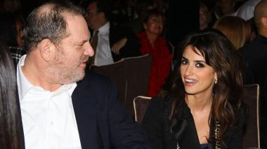 Harvey Weinstein y Penélope Cruz.
