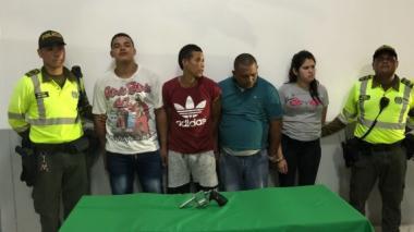 En video   Asesinan a bala a ciudadano venezolano en Las Moras: una mujer entre los cuatro capturados