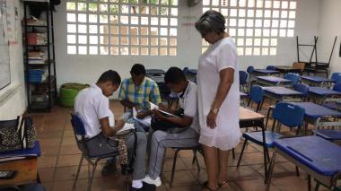 Solo 500 alumnos de 12.900 fueron este lunes a clases en Sabanalarga tras fin de las corralejas
