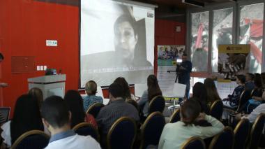 Asistentes al primer encuentro investigativo de trata de personas realizado en Colombia.