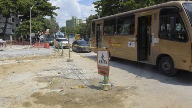 Tránsito anuncia cambios viales por canalización del arroyo de la 65