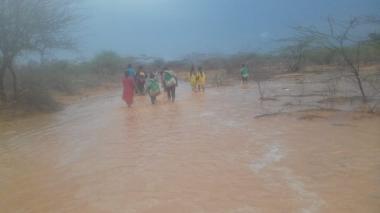 En video | En 4 días ha caído más agua en La Guajira que la que cayó el año pasado