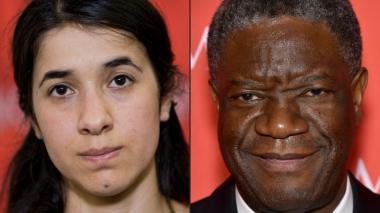 Nobel de Paz a dos héroes anti violencia sexual
