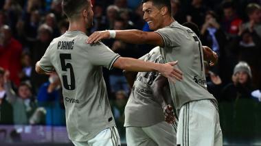 Cristiano marca en la victoria de la Juventus