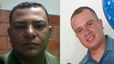 Ev Ramos Anaya y Henry Alberto Gordillo, asesinados.