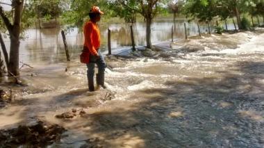 Lluvias causan estragos en cuatro municipios de Córdoba