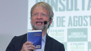 Procuraduría pide desestimar la pérdida de investidura de Antanas Mockus