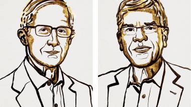 William D. Nordhaus y Paul M. Romer, ganadores del premio Nobel de economía.