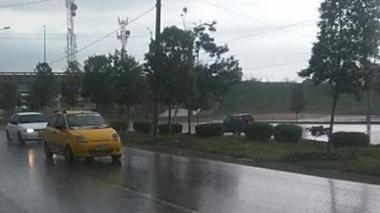 Llueve a esta hora en Barranquilla y su área metropolitana