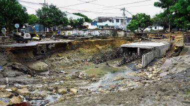 Cuatro puntos críticos en la canalización de arroyos
